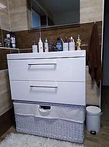Košíky - Kúpeľňové koše ALISA / set - 12542180_