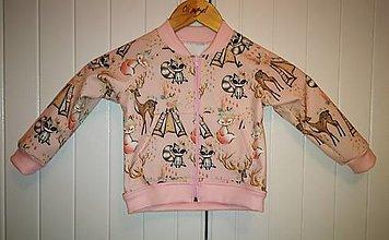 Detské oblečenie - Bombera 98 - 12544642_