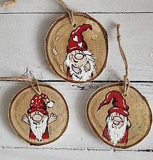 """Dekorácie - Vianočné ozdoby """"Škriatok"""" - 12547180_"""