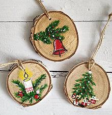 """Dekorácie - Vianočné ozdoby """"Klasika"""" - 12547189_"""