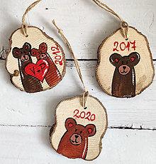 """Dekorácie - Personalizované vianočné ozdoby """"Macovia"""" - 12547201_"""
