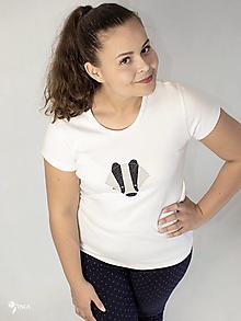 Tričká - Jazvec - dámske tričko - 12547107_