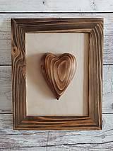 Srdce v ráme