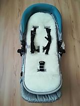 Textil - VLNIENKA podložka do kočíka Jané Crosswalk R  3 v 1 100 % merino top super wash do vaničky/ vajíčka/ športiaka na mieru - 12545939_