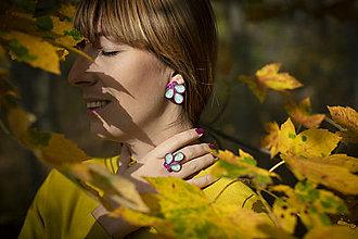 Sady šperkov - Sada na bežné nosenie - farebné listy - 12544929_