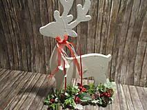 Dekorácie - Vianočný sob - 12546594_