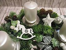 Dekorácie - Adventný venček - 12546763_