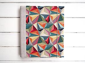 Papiernictvo - Geometrický fotoalbum - 12545317_