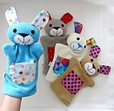 Hračky - Maňuška zajko - na objednávku - 12548020_