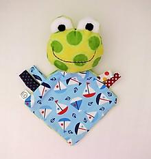 Hračky - Mojkáčik žabka - Žabiak námorník - 12542929_