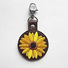 Kľúčenky - Kľúčenka slnečnica - 12542822_