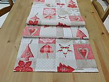 Úžitkový textil - Vianočná štola - 12542683_