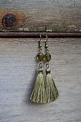 Náušnice - Náušnice - Barokové olivy - 12546319_