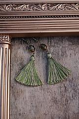 Náušnice - Náušnice - Barokové olivy - 12546328_