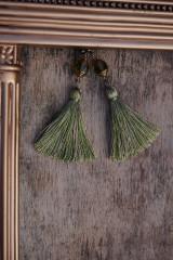 Náušnice - Náušnice - Barokové olivy - 12546333_