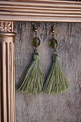 Náušnice - Náušnice - Barokové olivy - 12546336_