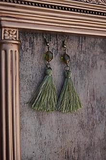 Náušnice - Náušnice - Barokové olivy - 12546335_