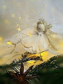 "Dekorácie - Anjel - ""Betka"" - 12546917_"
