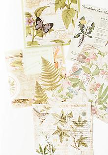 """Papier - Set kreatívnych háročkov """"Botanical"""" - 12547765_"""