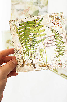 """Papier - Set kreatívnych háročkov """"Garden"""" - 12547784_"""