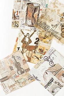 """Papier - Set kreatívnych háročkov """"Music II."""" - 12547811_"""