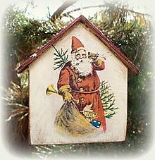 Dekorácie - Vianočná ozdoba - 12544875_