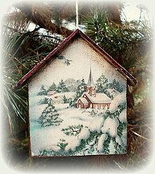 Dekorácie - Vianočná ozdoba - 12544888_