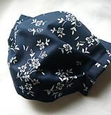 Rúška - Ochranné rúško na tvár s drôtikom - dvojvrstvové - 12547568_