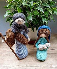 Dekorácie - Jozef a Mária - 12551017_