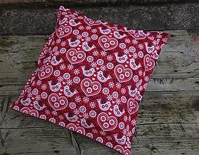 Úžitkový textil - Obliečka na vankúš s folklórnym motívom - 12551777_