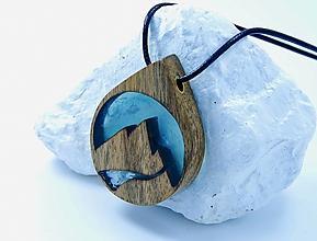 Náhrdelníky - Živicový náhrdelník - Hory 4 - 12552354_