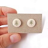 Náušnice - Náušnice stromy väčšie - 12551318_