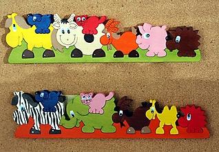 Hračky - Drevené hračky. Montessori skladačky. - 12551568_