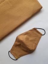 Rúška - Dámske a pánske čierne rúška  (Dámske čierne s drôtikom) - 12551057_