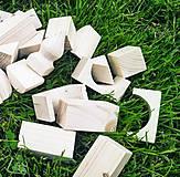 Hračky - Drevená stavebnica - 12552760_