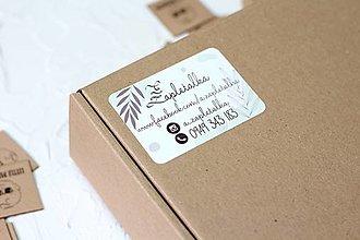 Papiernictvo - Nálepka s logom/vlastnou grafikou 7x5cm - 12554249_