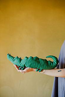 Hračky - Krokodíl na boľavé bruško - 12556545_