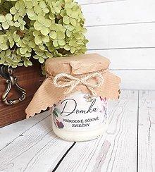 Svietidlá a sviečky - Natural (neparfumované) sójové sviečky (310g) - 12557213_
