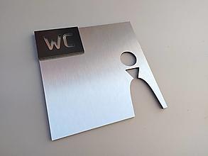 Tabuľky - Označenie WC muži, ženy - 12557841_