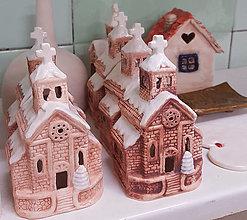 Svietidlá a sviečky - Kostolík - 12558045_