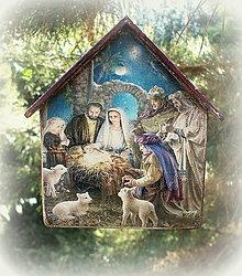 Dekorácie - Vianočná ozdoba - 12555719_