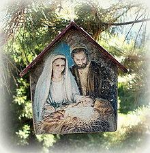 Dekorácie - Vianočná ozdoba - 12555835_