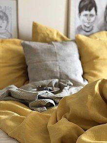 Úžitkový textil - Ľanové posteľné obliečky Katarína - 12557811_