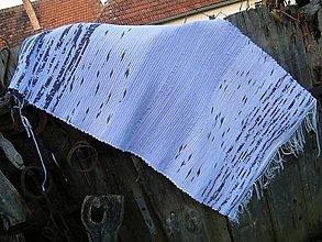 Úžitkový textil - Tkaný koberec svetlofialový melírovaný - 12555979_