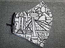 Pánske rúško Bratislava s antibakteriálnou bavlnou