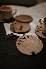 Pomôcky - Podšálky káva - 12559129_