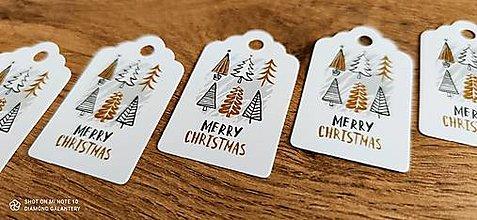 Obalový materiál - Vianočná vysačka - Merry Christmas - 12562089_