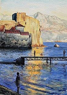"""Obrazy - """" Budva"""" Čierna Hora - 12561008_"""