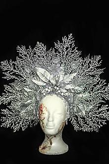 Ozdoby do vlasov - Koruna Ľadová kráľovná - 12563817_