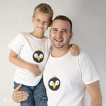Oblečenie - Čimo - pánske a detské tričko /body - 12562918_